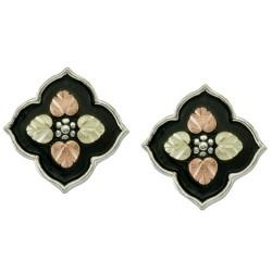 Black Hills Antiqued Sterling Silver Earrings