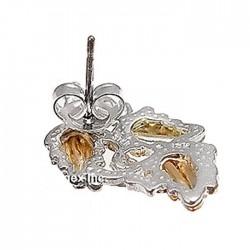 Landstrom's® Black Hills Gold on Sterling Silver Earrings