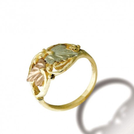Black Hills Gold Ring for Ladies