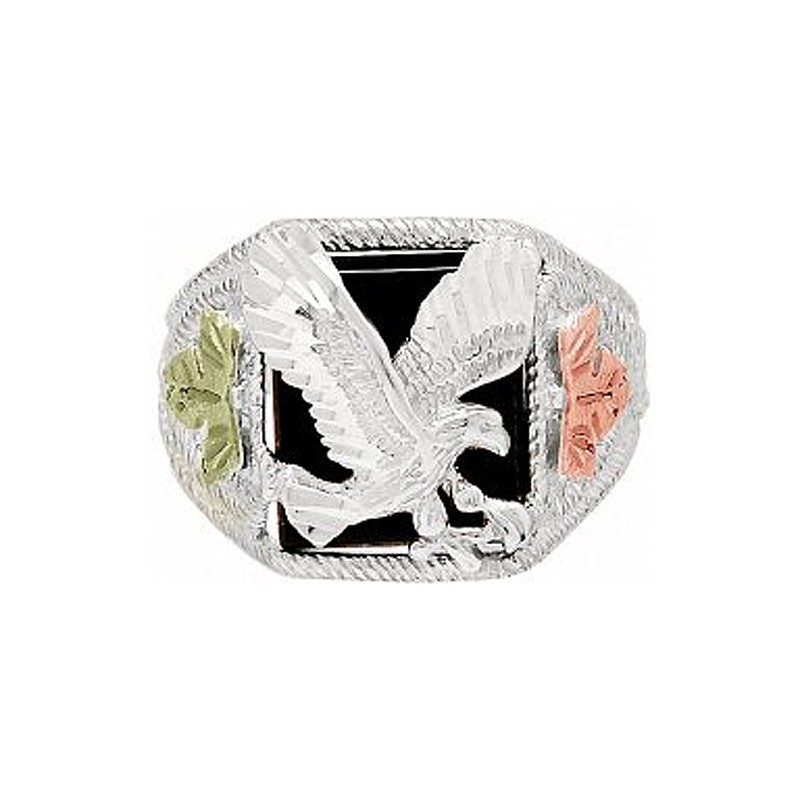 Black Hills Gold Men S Eagle Ring
