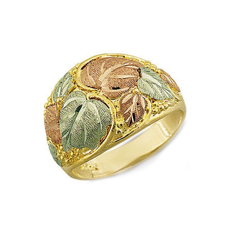 South Dakota Black Hills Gold Rings