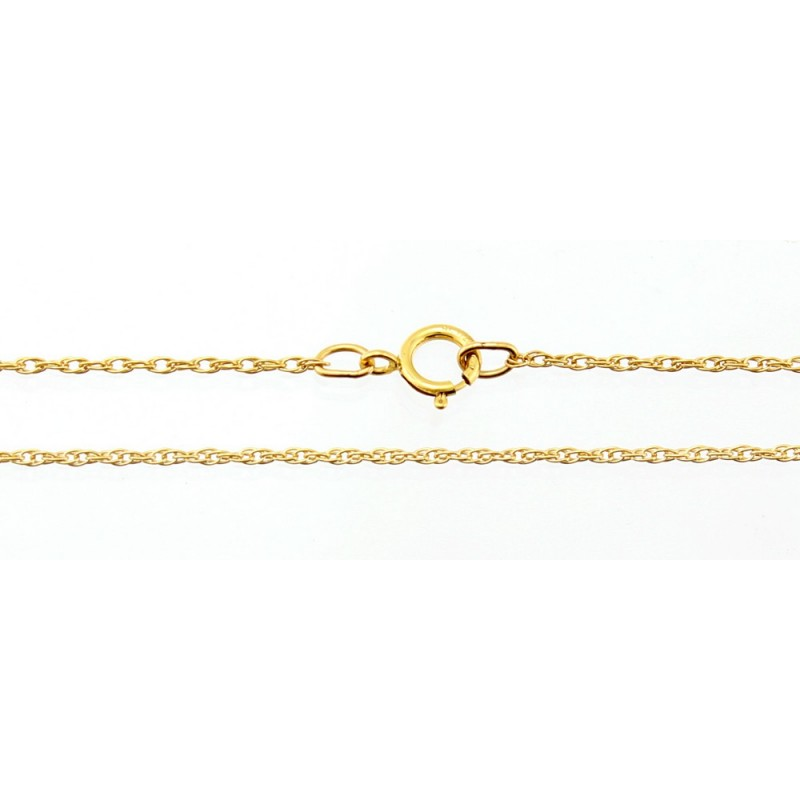 1 20 12k Gold Filled Rope Chain 18 Inch Long