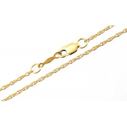 1/20 14K Gold Filled Rope Chain 24-inch Long