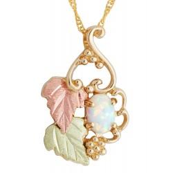Landstrom's® 10K Black Hills Gold Opal Pendant