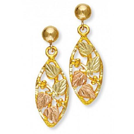 Landstrom's® 10K Black Hills Gold Earrings