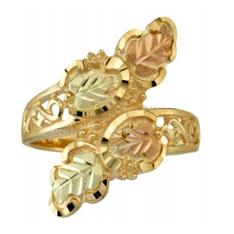 10K BLACK HILLS GOLD LADIES RING