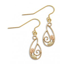 Landstrom's® 10K Black Hills Gold Dangle Earrings