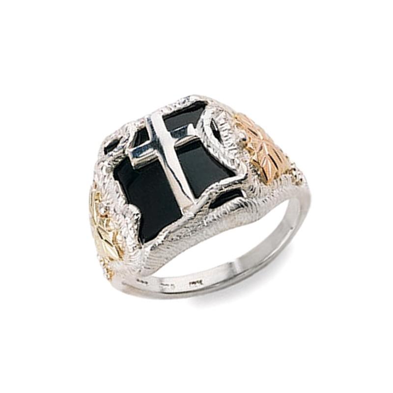 Black Hills Gold Men S Eagle Ring
