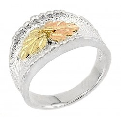 Landstrom's® Black Hills Gold on Sterling Ladies Ring
