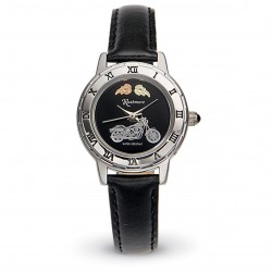 Women's Black Hills Gold Motorcycle Watch by Mt. Rushmore