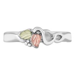Landstrom's® Black Hills Gold on Sterling Silver Ladies Ring