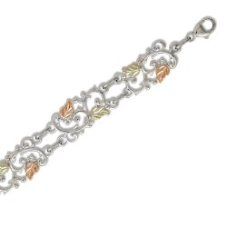 Landstrom's® Black Hills Gold on Sterling Silver Bracelet