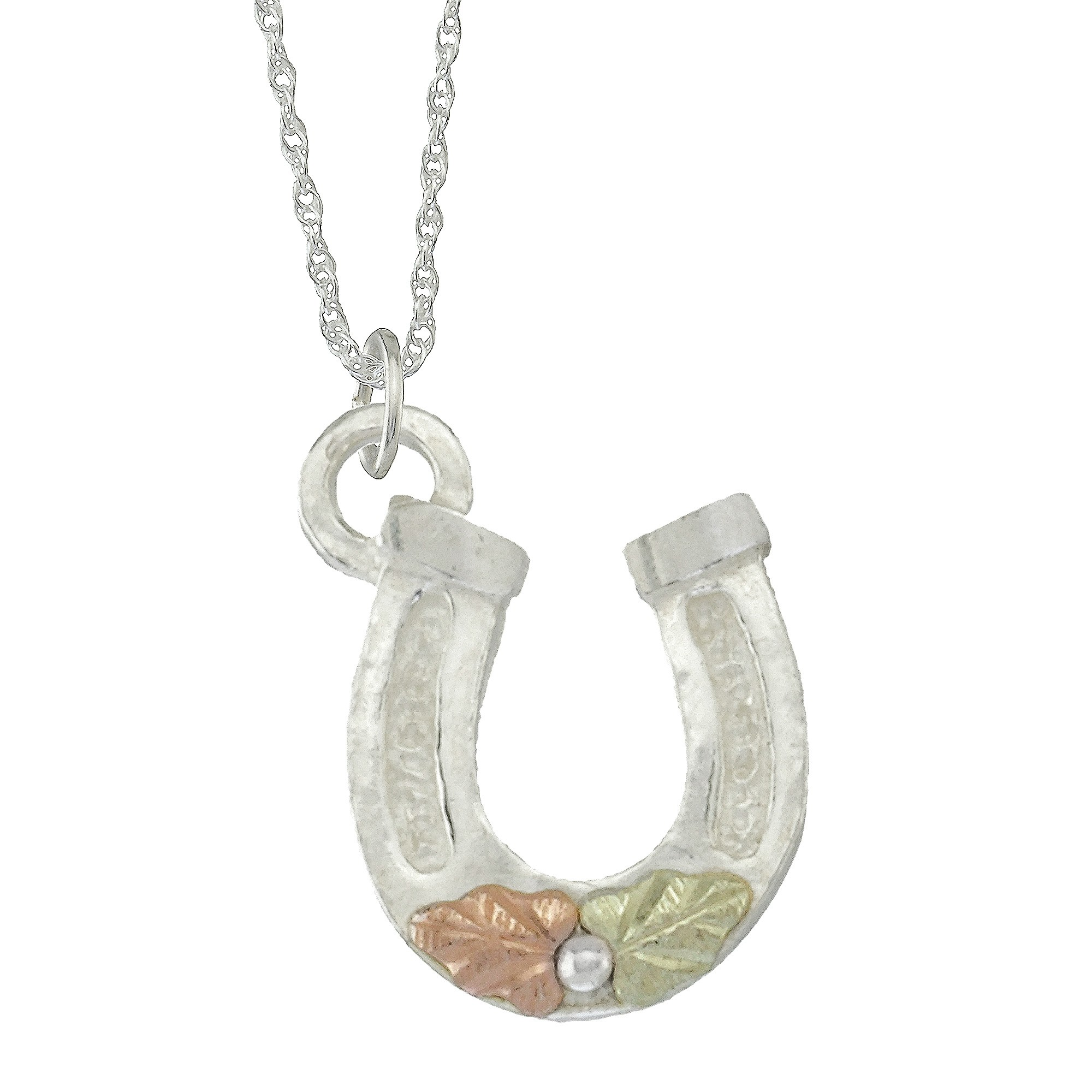 sr horseshoe pendant necklace