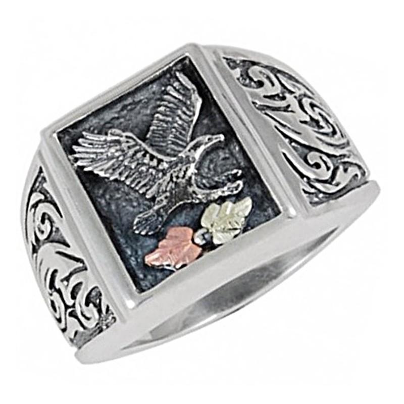 Hills Sterling Eagle Ring