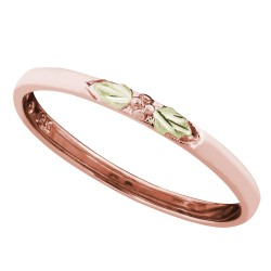 Landstrom's® Black Hills Gold Stackable Rose Gold Ring