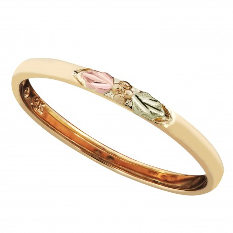 Landstrom's® Black Hills Gold Stackable Yellow Gold Ring