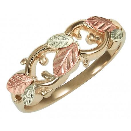 10K Black Hills Gold Ladies Ring