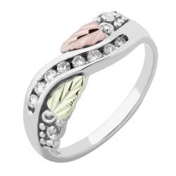 Landstroms® 10K White Gold Women's Diamond Ring