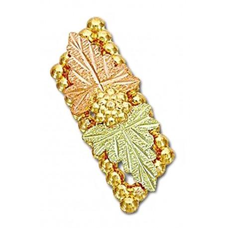 Landstrom's® 10K Black Hills Gold Tie Tack / Label Pin