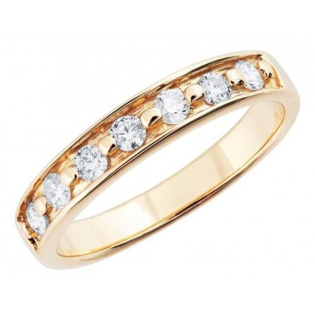 Landstrom's® 10K Black Hills Gold Ladies Ring with 1/3TW Genuine Diamond