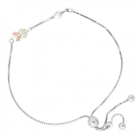 Landstrom's® Sterling Silver Bolo Bracelet with Arrow