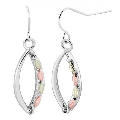 Landstrom's® Sterling Silver Dangle Earrings with Shepherd Hooks