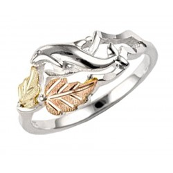 Mt. Rushmore Sterling Silver Ladies Dolphin Ring