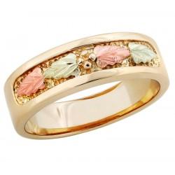 Landstroms Gorgeous Black Hills Gold Womans Ring