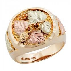 Landstrom's® Original 10K Black Hills Gold Men's Ring