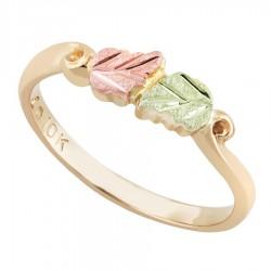 Landstrom's® 10K Black Hills Gold Pinky Finger Ring