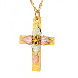 Landstrom's® Traditional 10K Gold Cross Pendant