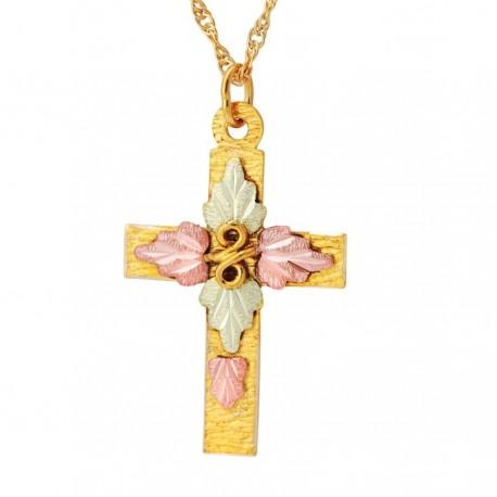 Landstrom's® Traditional 10K Gold Cross Pendant