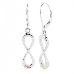 Landstrom's® Sterling Silver Dangle Infinity Earrings
