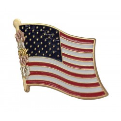 Landstroms® American Flag Label Pin