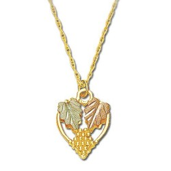 Landstrom's® Traditional Grapes and Leaves Pendant