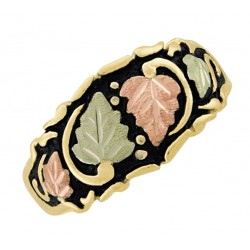10K Black Hills Gold Antiqued Ladies Band Ring