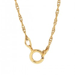 1/20 14K Gold Filled 16 Inch Long Rope Chain