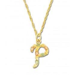Landstrom's® 10K Black Hills Gold Initials Pendant - P