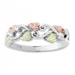 BHG Sterling Silver Grape Vine Ladies ring