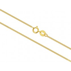 10K Solid Gold Chain Classic Thin 16 Inch