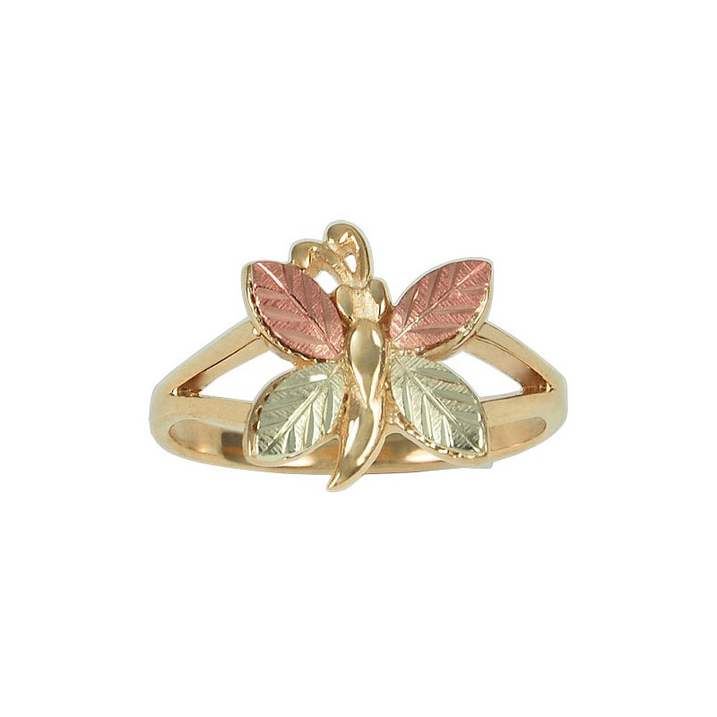 Black Hills Gold Butterfly ring With 12K Gold - BlackHillsGold ...