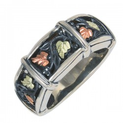 Oxidized Sterling Silver Black Hills Ring