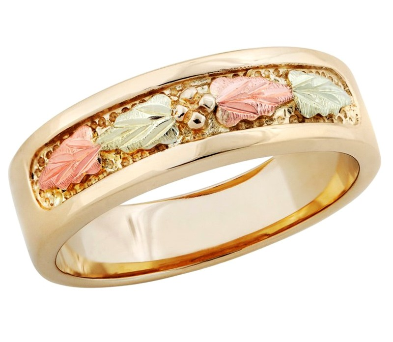 Solid Gold Women's Rings